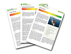 New factsheets available: Aviation biofuels, bioenergy-RES hybrids, marine biofuels