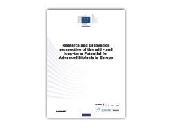 New study on R&I perspective of potential for Advanced Biofuels in Europe available!