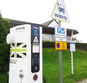 bioelctricity car charging point