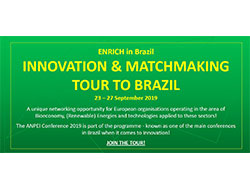 ENRICH Matchmaking & Innovation Tour to Brazil (23-27 September 2019)