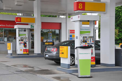 World first filling station offering Cellulosic Ethanol