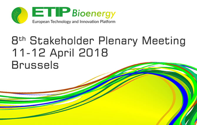ETIP Bioenergy 8th Stakeholder Plenary Meeting